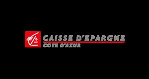 Logo Caisse d'Epargne Côte d'Azur | client GEDEAS, Entreprise Adaptée