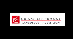Logo Caisse d'Epargne Languedoc-Roussillon | client GEDEAS, Entreprise Adaptée