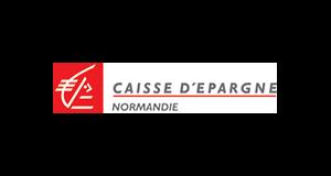 Logo Caisse d'Epargne Normandie | client GEDEAS, Entreprise Adaptée