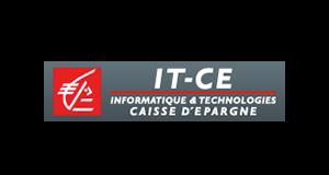Logo Caisse d'Epargne ITCE | client GEDEAS, Entreprise Adaptée