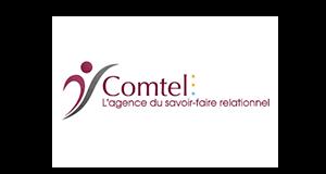 Logo Comtel | partenaire GEDEAS, Entreprise Adaptée