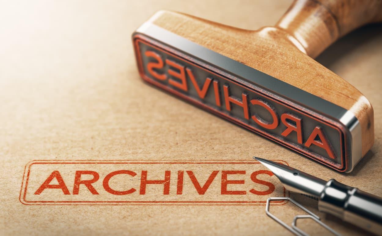 Archivage de documents & données avec Gedeas