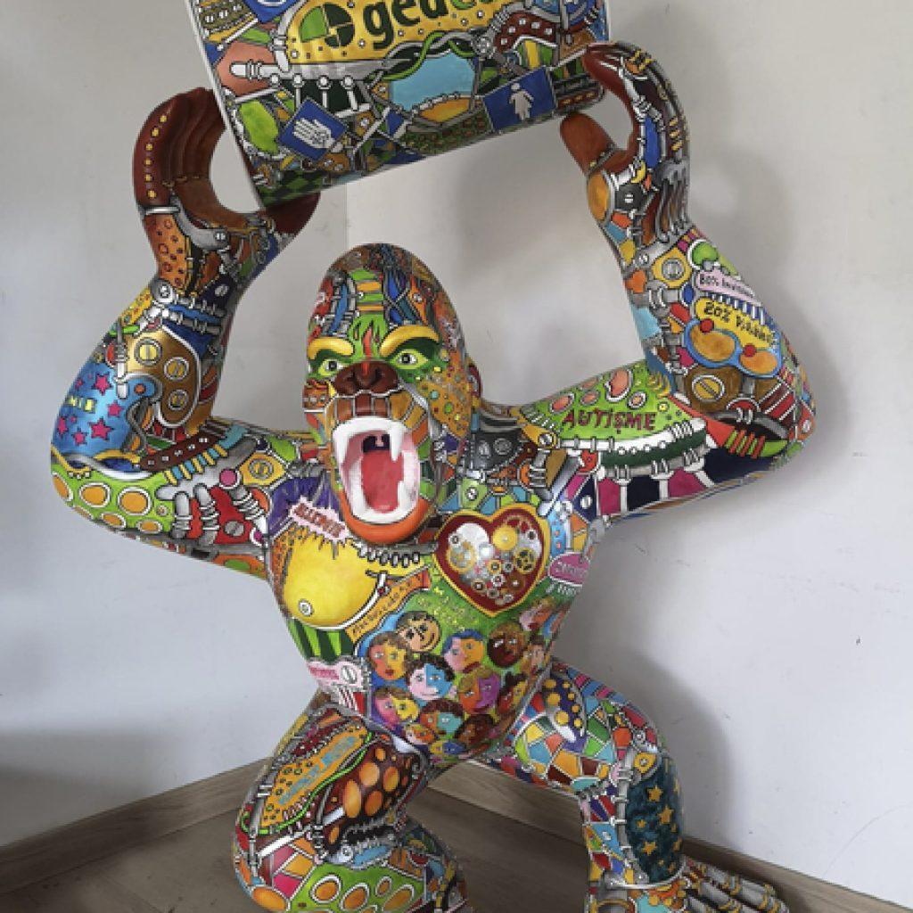 Le Gorill'Art de Franck Célaire