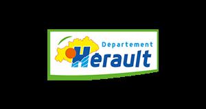 Logo Département Hérault | client GEDEAS, Entreprise Adaptée