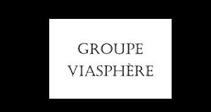 Logo Groupe Viasphère | client GEDEAS, Entreprise Adaptée